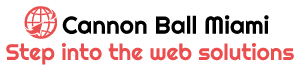 Cannon Ball Miami – Step into the web solutions
